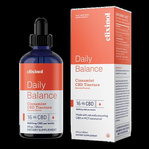 Elixinol 4000mg Cinnamint CBD Oil
