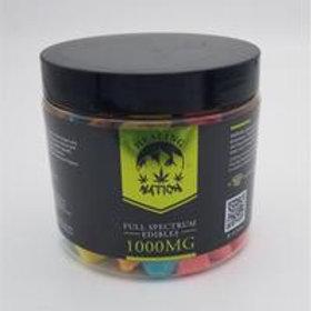 Healing Nation Full Spectrum Gummies | 1000mg