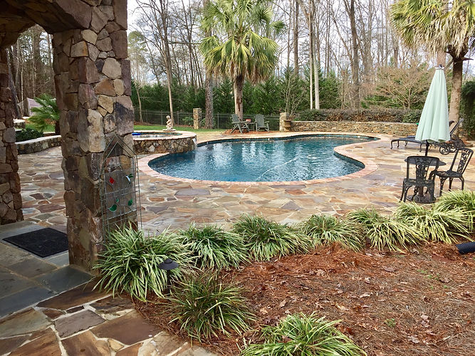 Outdoor In-ground Swimming Pool