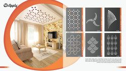 Stretch ceilings Dubai | Perforated