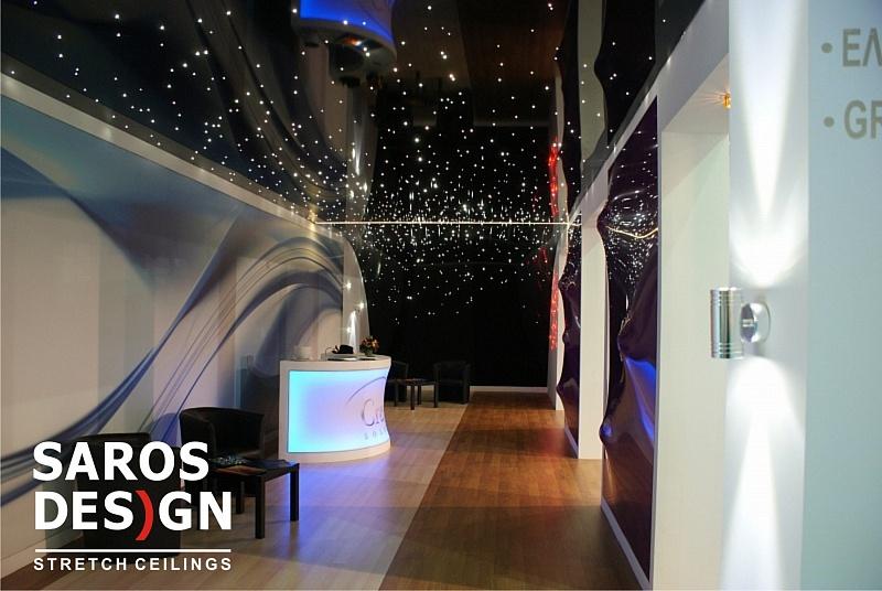 starry sky ceiling,optic fiber light