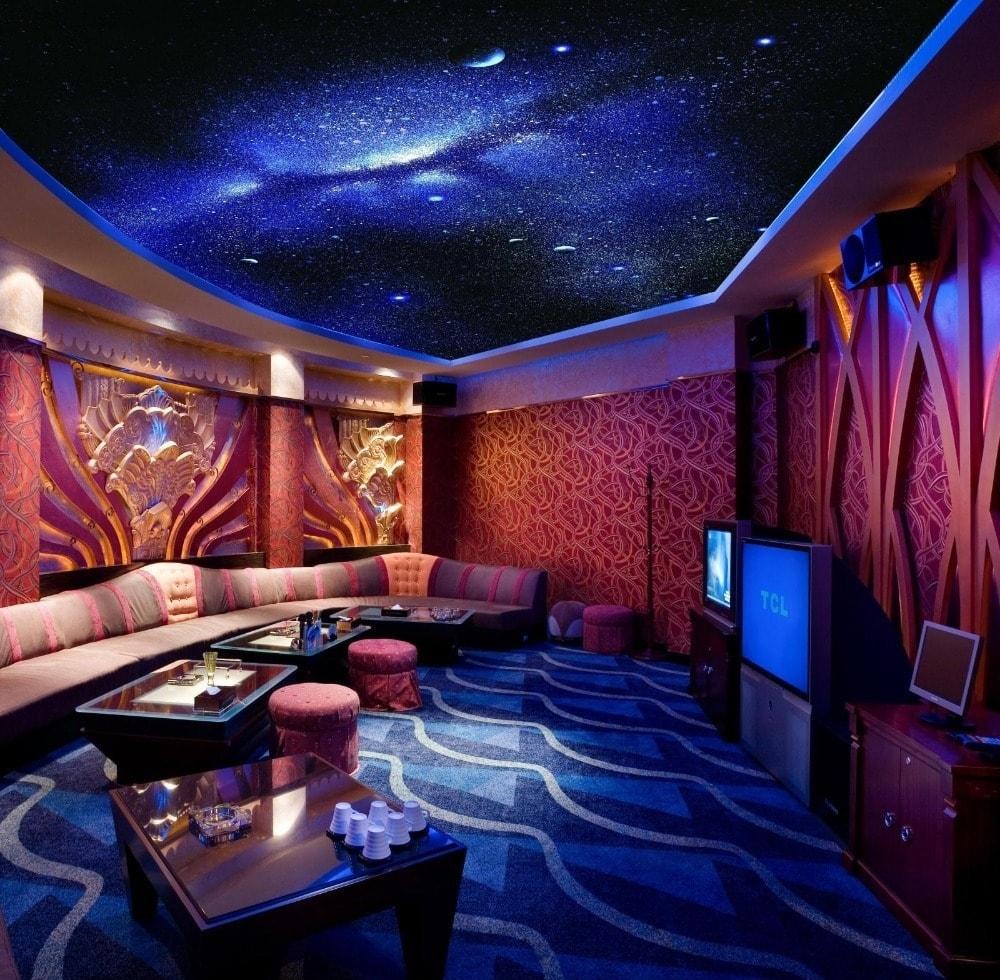fiber optic lighting ceiling
