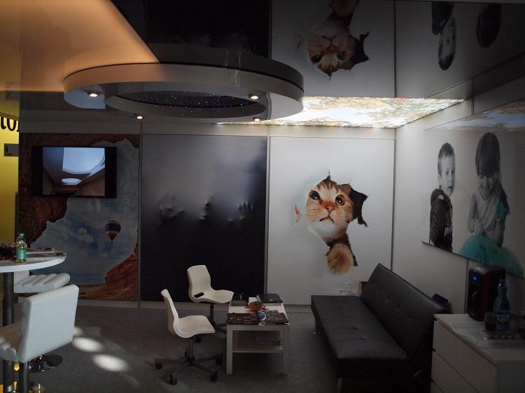 Ceiling stretch ceilings   Dubai