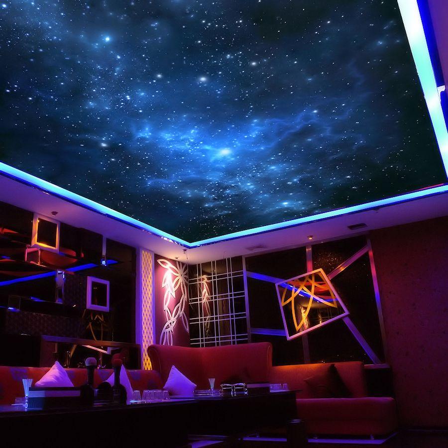 starry sky ceiling optic fiber light