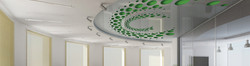 Perforated ceiling,3d ceiling