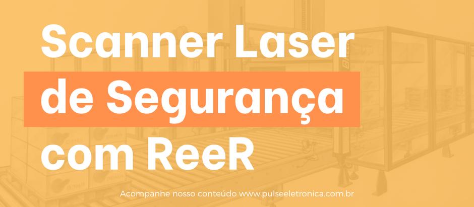 Scanner Laser de Segurança com ReeR
