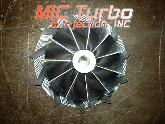 Honda Aquatrax Turbo Compressor Wheel Replacement