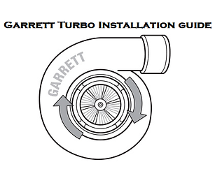 Garrett Turbo Installation Guide, Garrett Turbocharger Installation Instructions