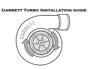 Garrett Turbo Installation Guide, Garrett Turbocharger Installation Instructions