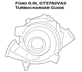 Ford 6.0L GT3782VAS Powerstroke Turbocharger Installation Guide, Turbo Installtion Instructions