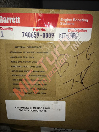 Garrett Turbo Rebuild Kit 740659-0009