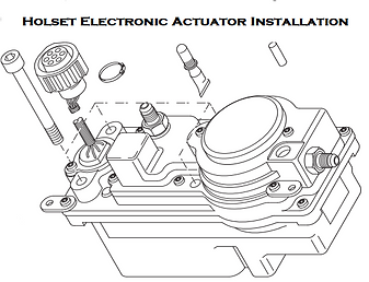 Holset VGT Electronic Actuator Installation Instruction Guide