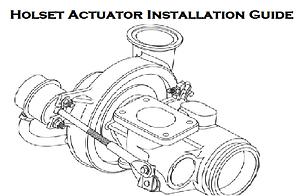 Holset Air Vacuum Actuator Installation Instructions Guide