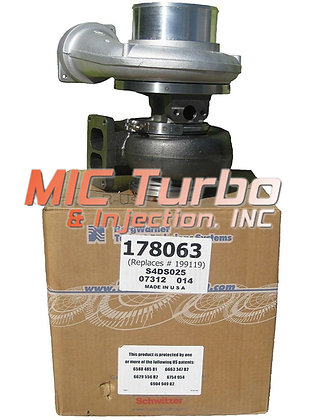BorgWarner 178063 Turbocharger CAT 3406 C15 Turbo 3406B