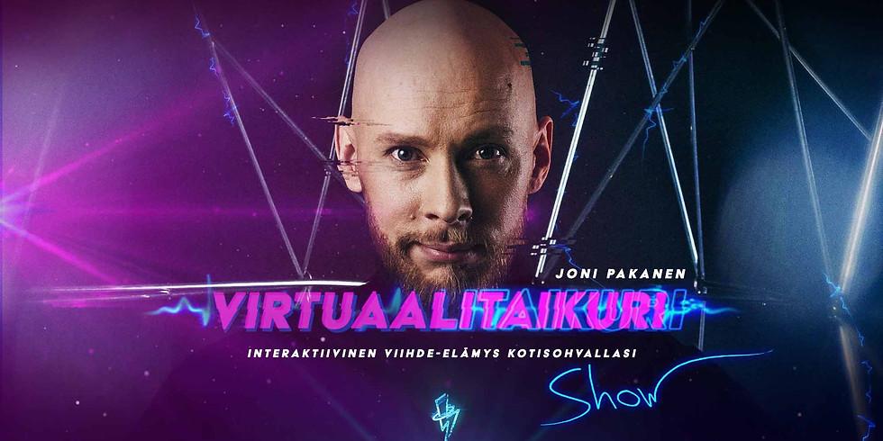 Vapun virtuaalinen taikashow 1.5.2021