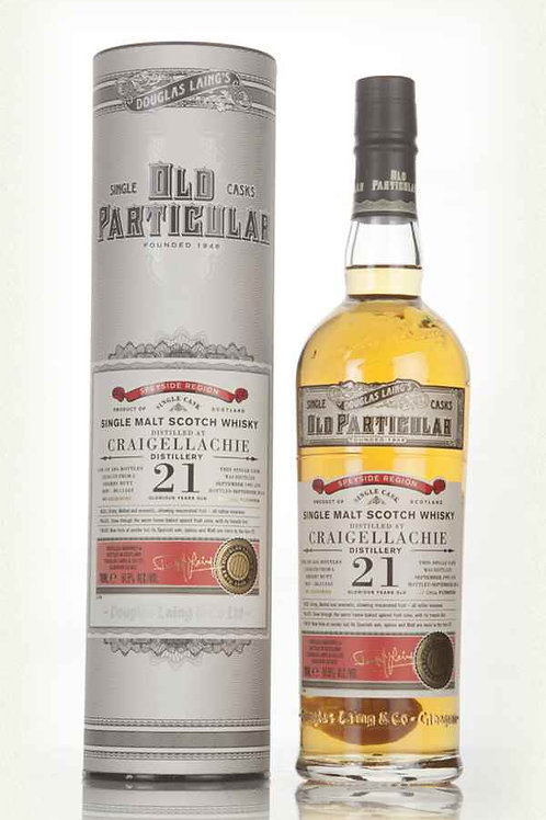Old Particular Craigellachie 21Yrs Single Cask Speyside Malt Whisky