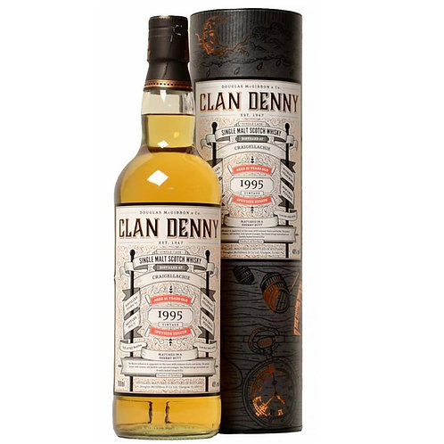 Clan Denny - Craigellachie 21 Years Single Sherry Cask Speyside Malt Whisky