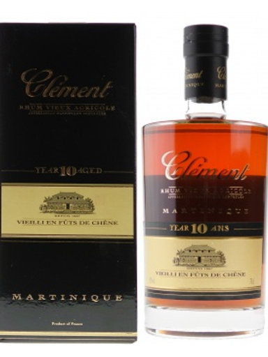 Clement 10Years Rum Martinique, France