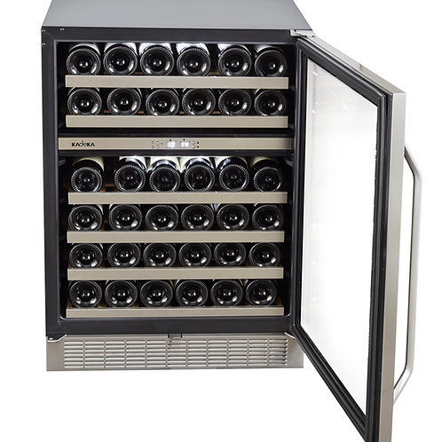 Kadeka Wine Chiller Seamless Stainless Steel - KA45WR