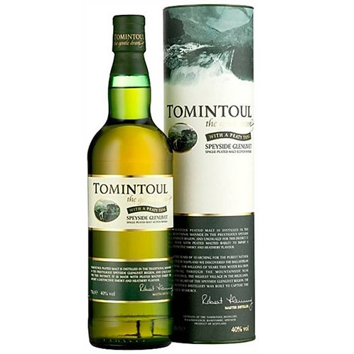 Tomintoul Peaty Tang Single Malt Speyside Scotch Whisky