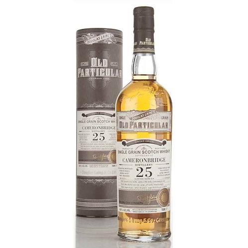 Old Particular Cameronbridge 25 Yrs Single Cask Highland Grain Scotch Whisky
