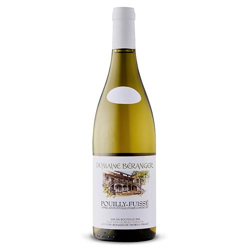 Pouilly Fuissé Domaine Béranger 2017 White Wine - Burgundy