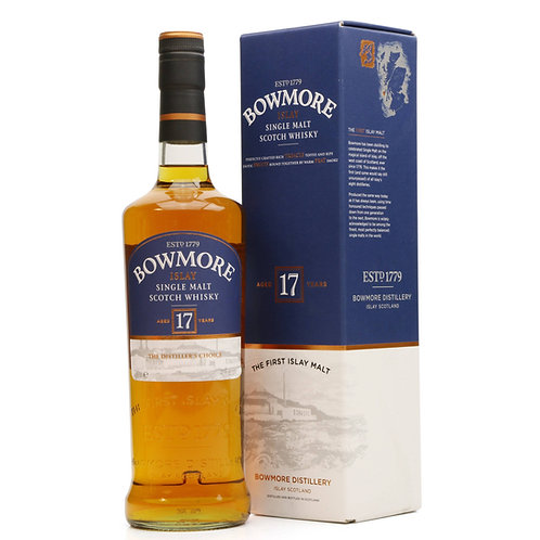 Bowmore 17 Years Single Malt Islay Scotch Whisky