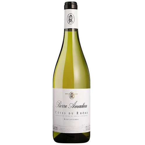 Pierre Amadieu 'Roulepierre' Cotes du Rhone Blanc 2017 White Wine Rhone, France