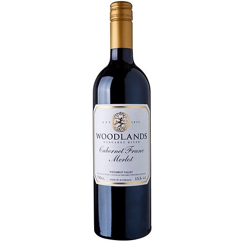 Woodlands Wilyabrup Cab. Franc Merlot 2015 Red Wine - Margaret River, Australia