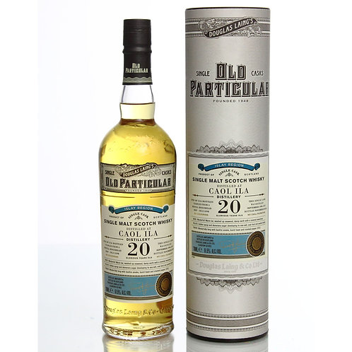 Old Particular Caol Ila 20 Yrs Single Cask Islay Malt Scotch Whisky
