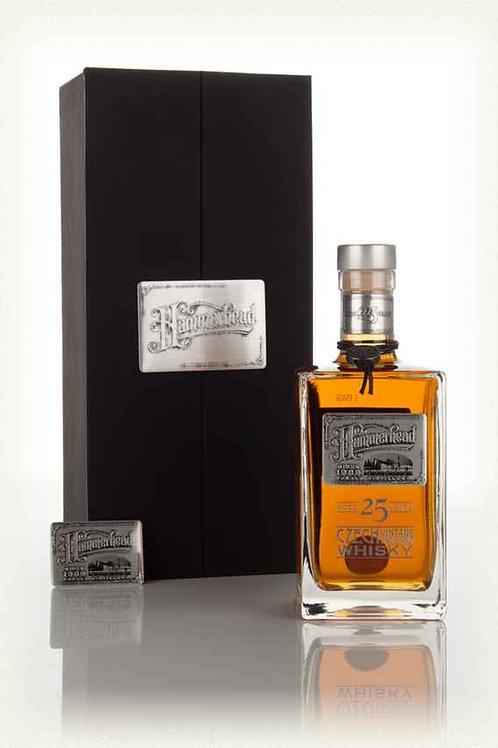 Hammer Head 25 Years, Single Malt Czech Whisky