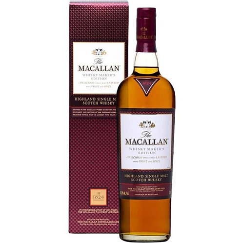 Macallan Whisky Maker's Edition, 1824 Collection