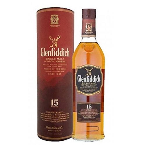 Glenfiddich 15 Years Single Malt Speyside Scotch Whisky
