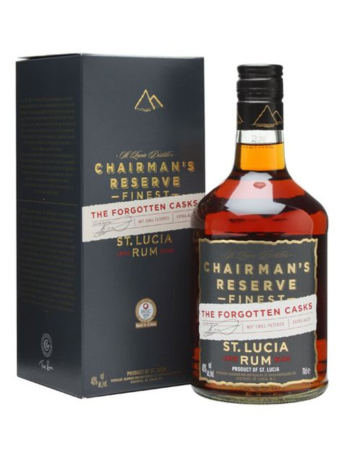 Chairman's Reserve The Forgotten Cask Rum, St. Lucia