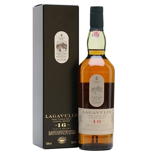Lagavulin 16 Years Single Malt Islay Scotch Whisky