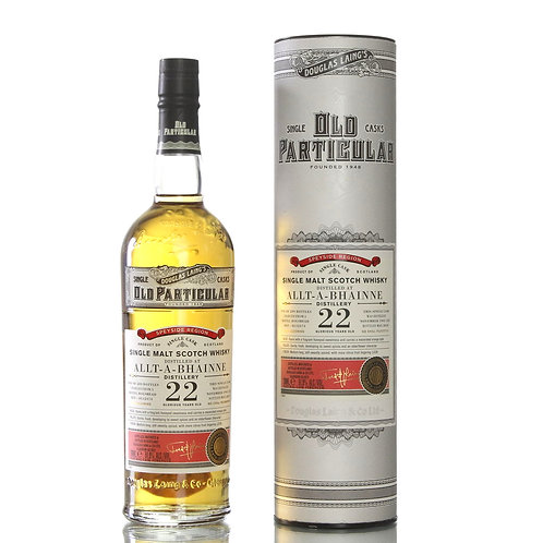 Old Particular Allt-a-Bhainne 22Yrs Single Cask Speyside Malt Scotch Whisky