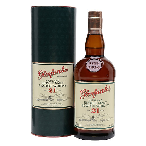 Glenfarclas 21 Years Single Malt Speyside Scotch Whisky