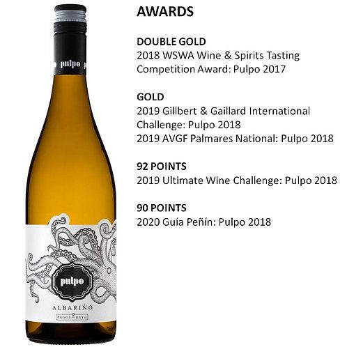 Pulpo Albarino 2019 White Wine - Rías Baixas, Spain