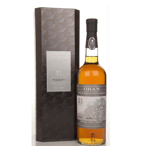 Oban 21Yrs Limited Edition Highland Single Malt Scotch Whisky