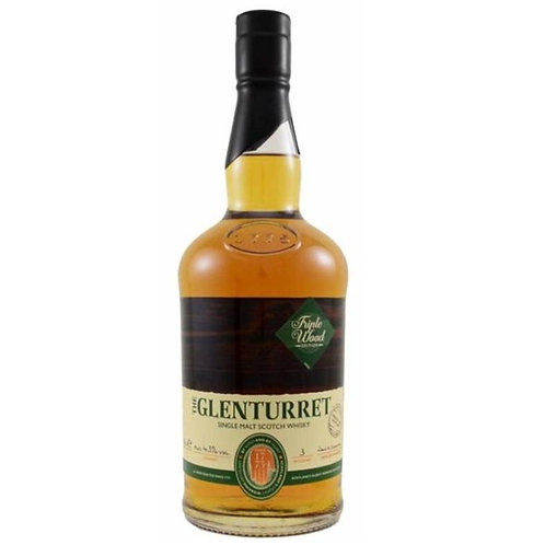 GlenTurret Triple Wood Single Malt Highland Scotch Whisky