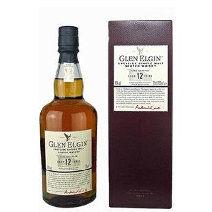 Glen Elgin 12 Years Single Malt Speyside Scotch Whisky