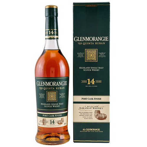 Glenmorangie Quinta Ruban 14 Years Single Malt Highland Scotch Whisky
