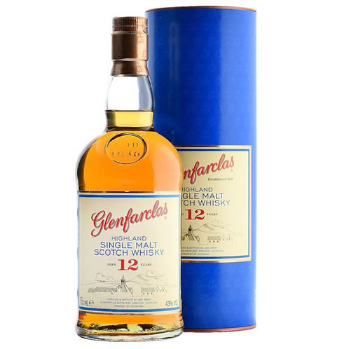 Glenfarclas 12 Years Single Malt Speyside Scotch Whisky 1L