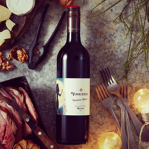 Vinaceous 'Voodoo Moon' Malbec 2017 Red Wine - Margaret River, Australia