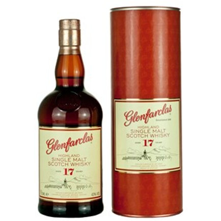 Glenfarclas 17 Years Single Malt Speyside Scotch Whisky