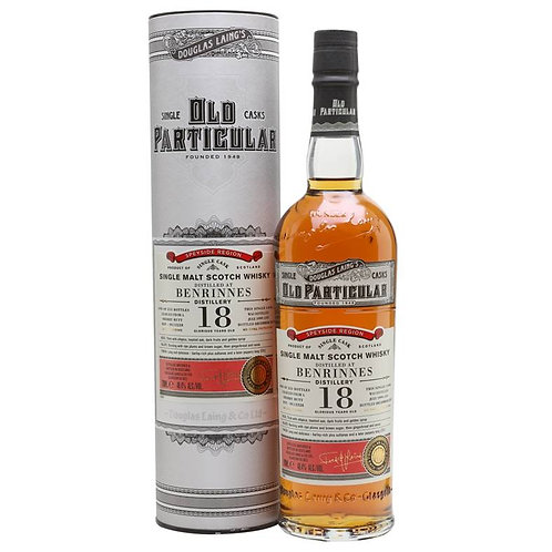 Old Particular - Benrinnes 18 Years Single Cask Speyside Scotch Malt Whisky