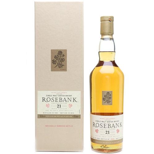 Rosebank 21 Years Single Malt Lowland Scotch Whisky