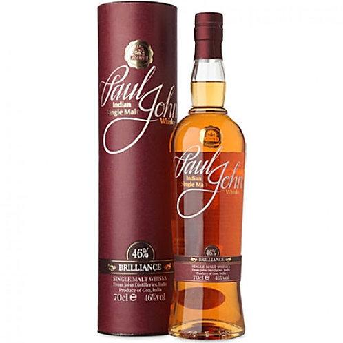 Paul John 'Brilliance', Single Malt Whisky - Goa, India