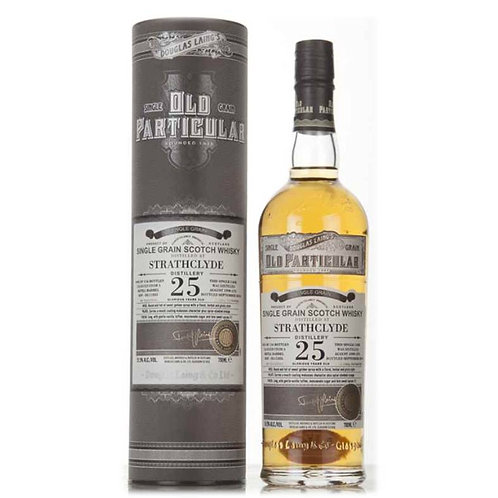 Old Particular Strathclyde 25 Yrs Single Cask Lowland Single Grain Scotch Whisky