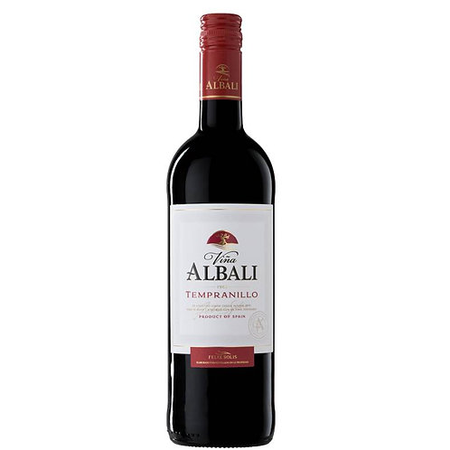 Vina Albali Tempranillo 2018 Red Wine - Valdepenas, Spain
